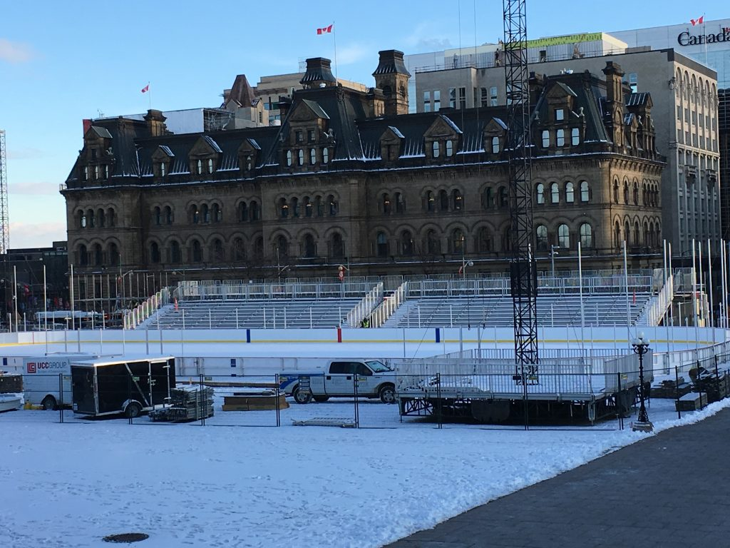 $6 MILLION SKATING RINK PAID FOR BY YOU!