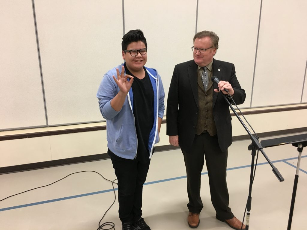 SASKATOON CHRISTIAN SCHOOL-BRING YOUR MP TO SCHOOL DAY