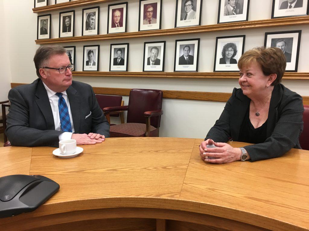 SASKATCHEWAN MINISTER OF FINANCE DONNA HARPAUER-FEDERAL BUDGET DAY