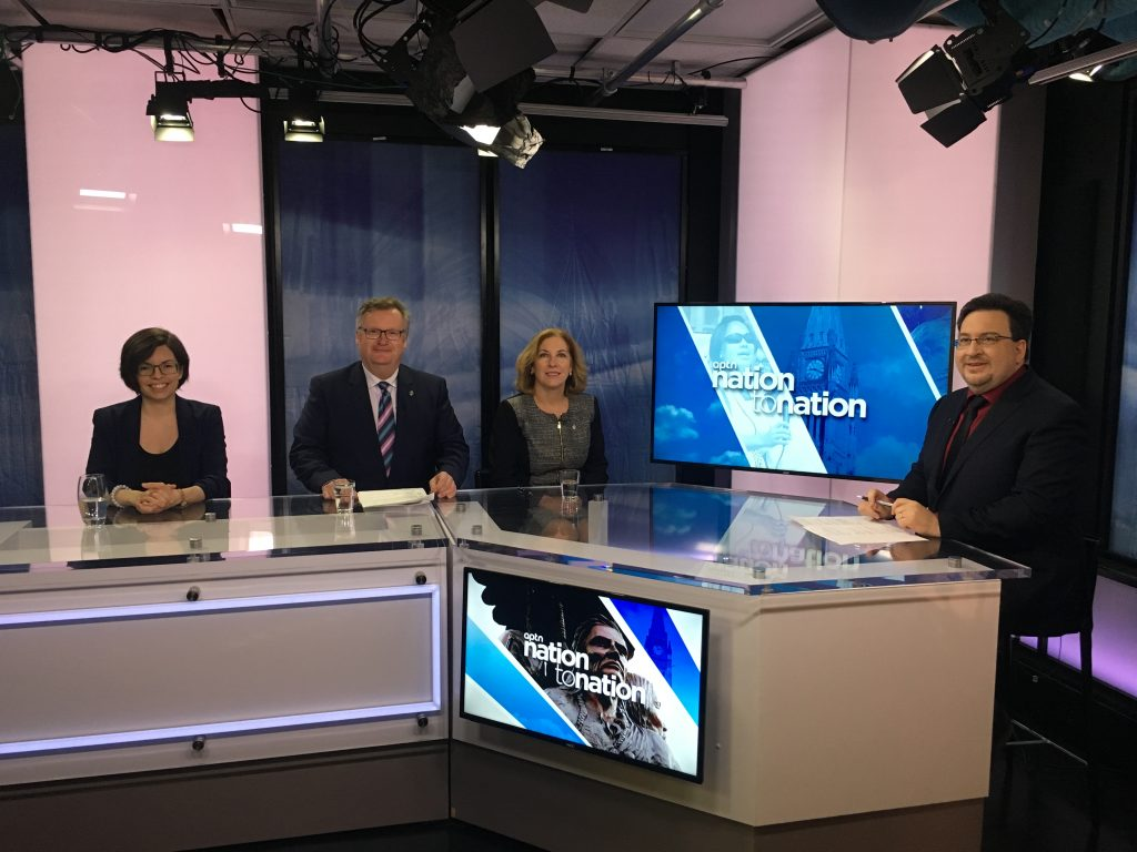 APTN INTERVIEW DISCUSSING LIBERAL TIES TO CLAM HARVESTING DEAL