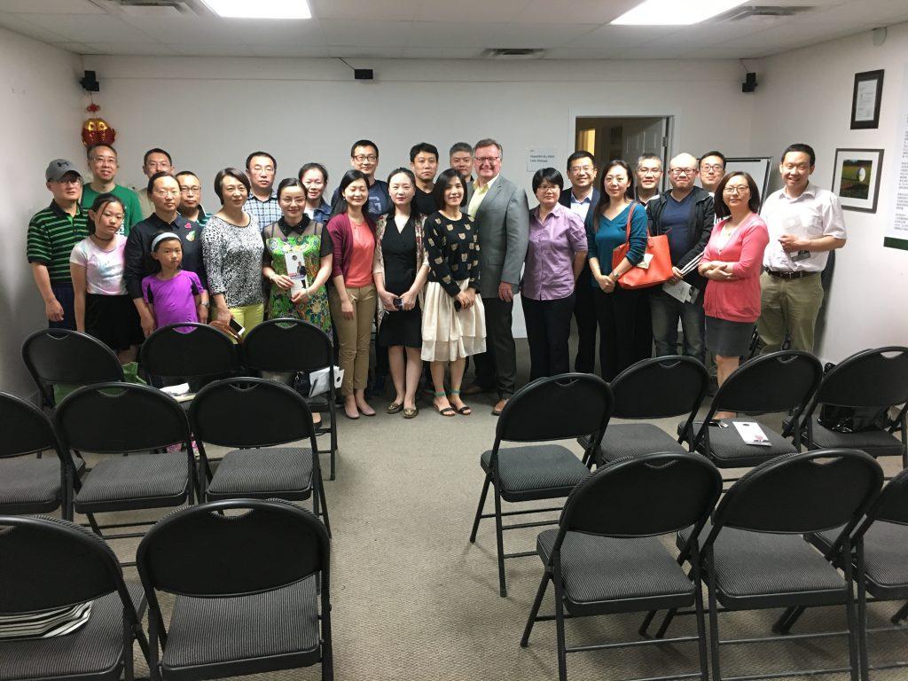 CHINESE COMMUNITY MEETING IN SASKATOON