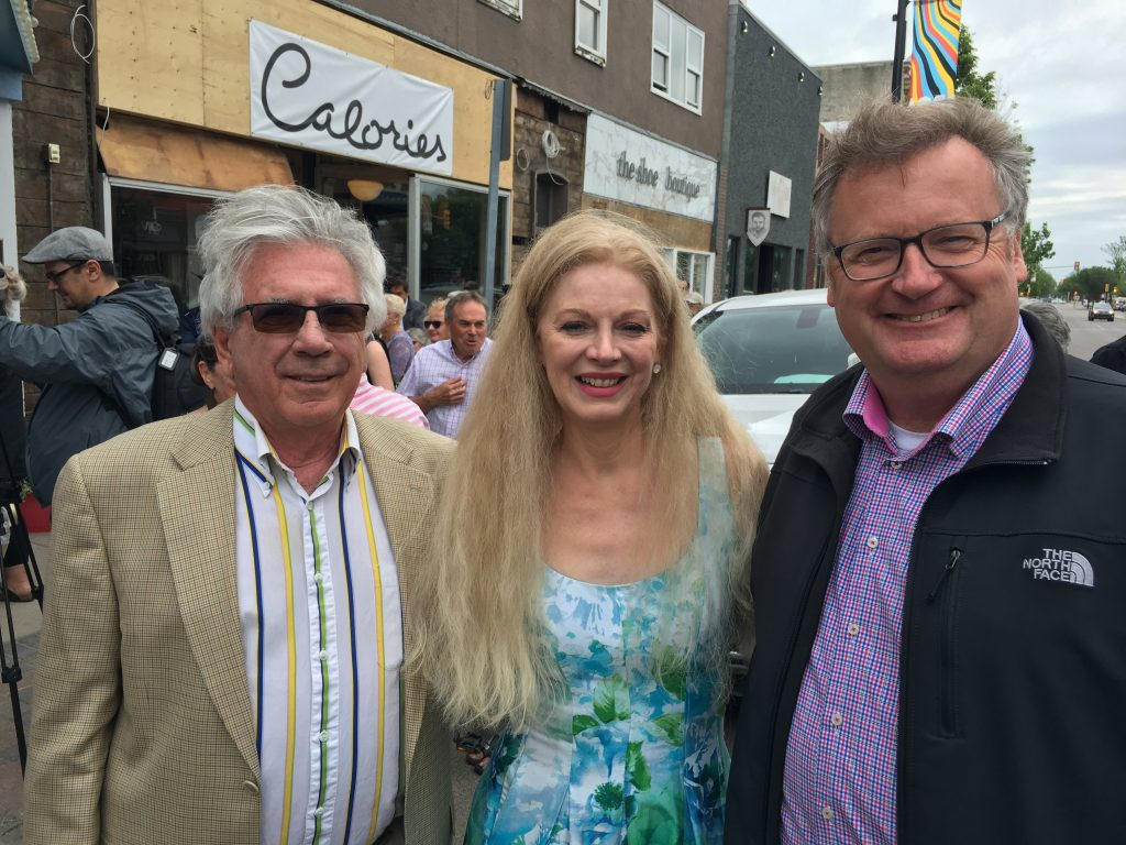 KEN ACHS & COLLEEN WILSON -TRIBUTE TO JONI MITCHELL UNVEILING OF PLAQUE