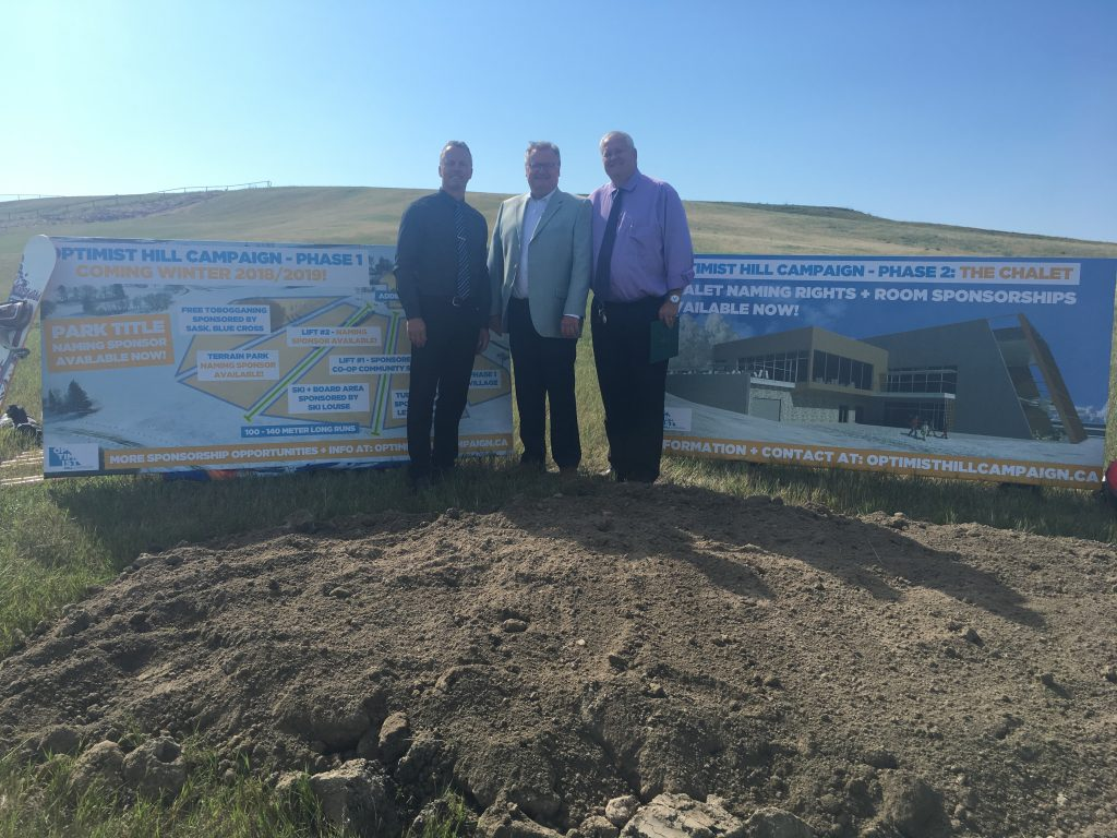 Optimist Hill Campaign Ground Breaking Ceremony