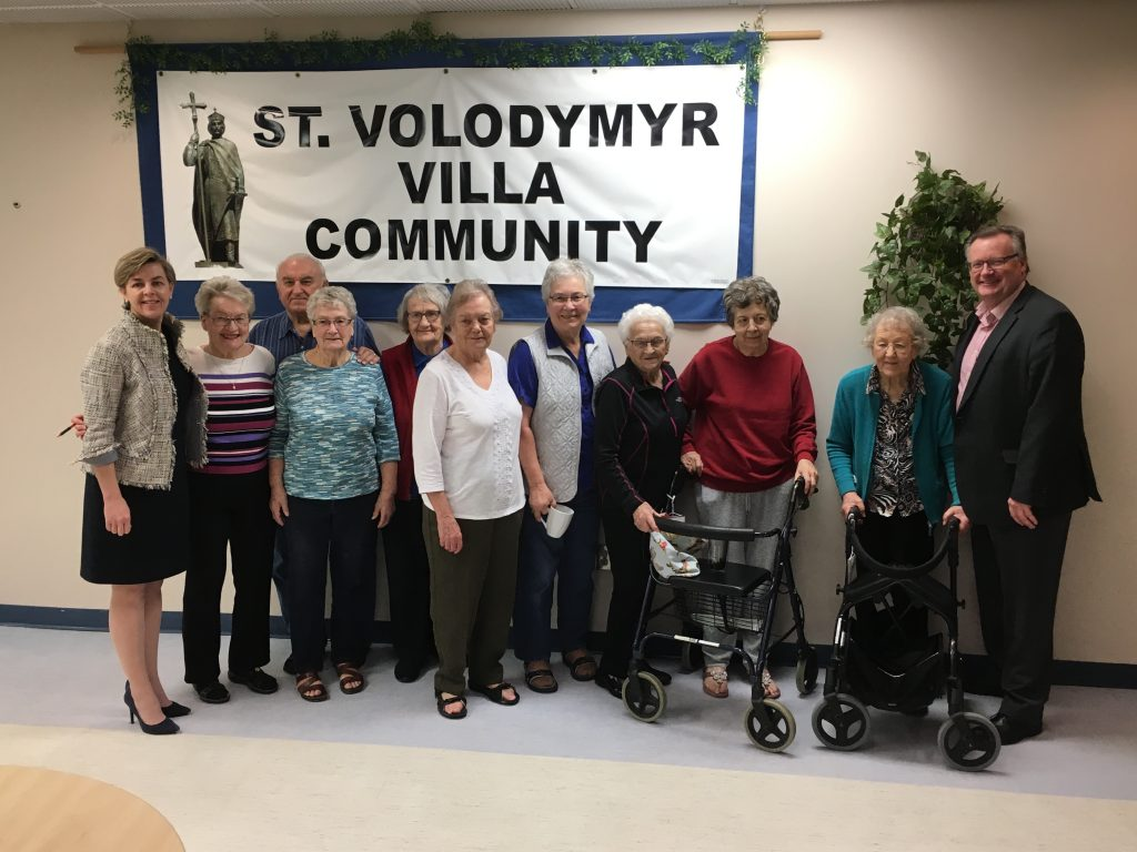 ST. VOLODYMYR VILLA ROUND TABLE DISCUSSION WITH KELLIE LEITCH, MP