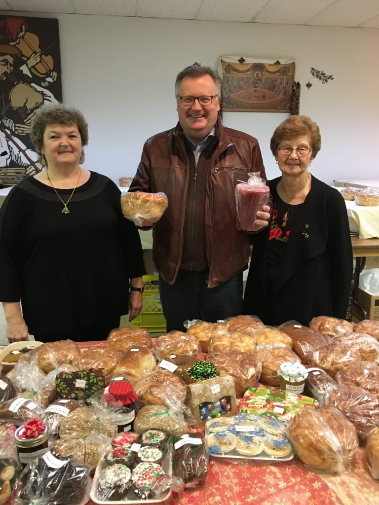 ALL SAINTS UKRAINIAN ORTHODOX CHURCH TEA & BAKE SALE.