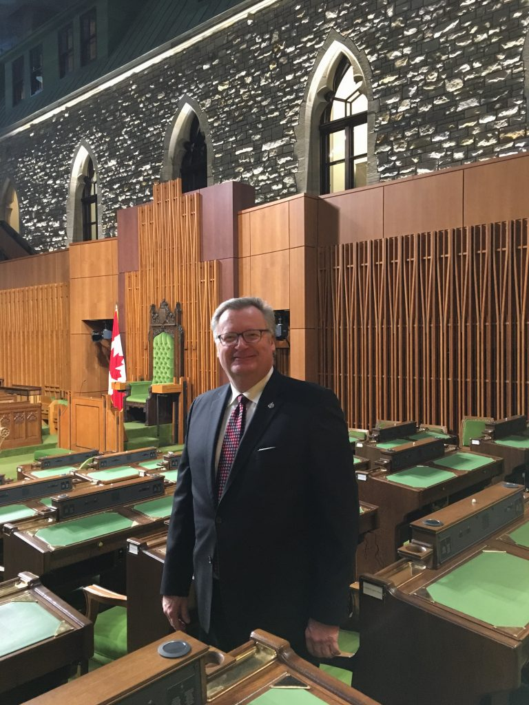 FIRST DAY BACK TO WORK IN THE HOUSE OF COMMONS-WEST BLOCK