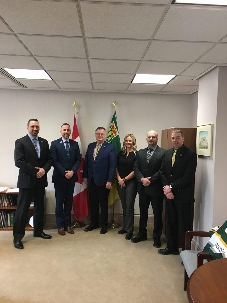 SASKATOON POLICE ASSOCIATION-JAMES WILDE, DEAN PRINGLE, ASHLEY MCLEOD, MICHAEL KOT, WILLIAM BERGERON