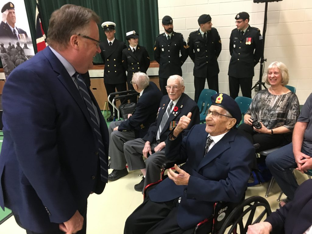 75TH ANNIVERSARY OF D-DAY & THE BATTLE OF NORMANDY AT MONTGOMERY SCHOOL