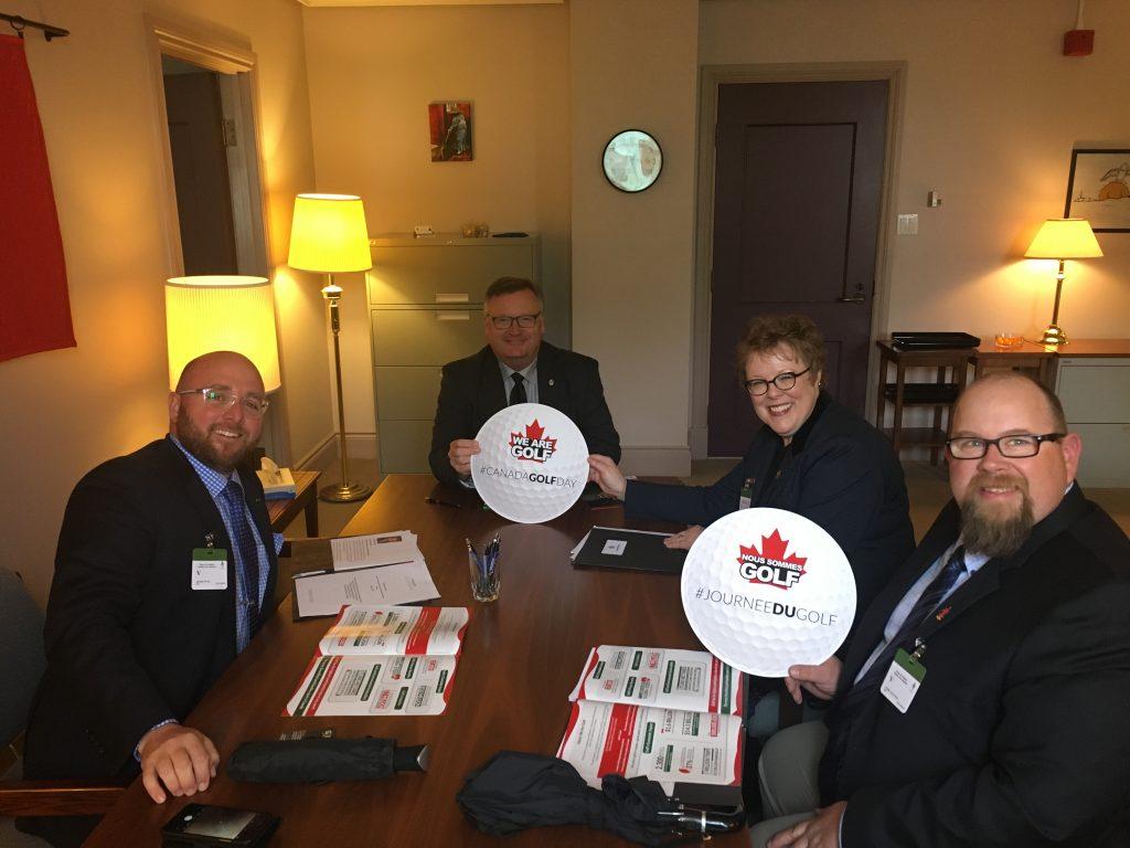 CANADIAN GOLF SUPERINTENDANTS ASSOCIATION-DANIEL PILON, SUSAN ROCK, DARREN KALYNUIK