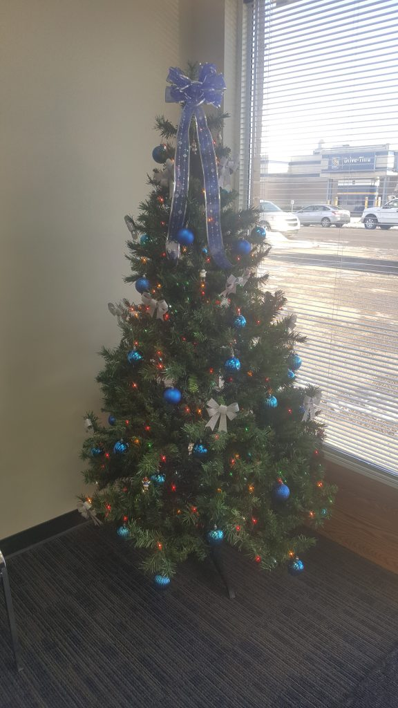 OUR CHRISTMAS TREE AT OUR CONSTITUENCY OFFICE!