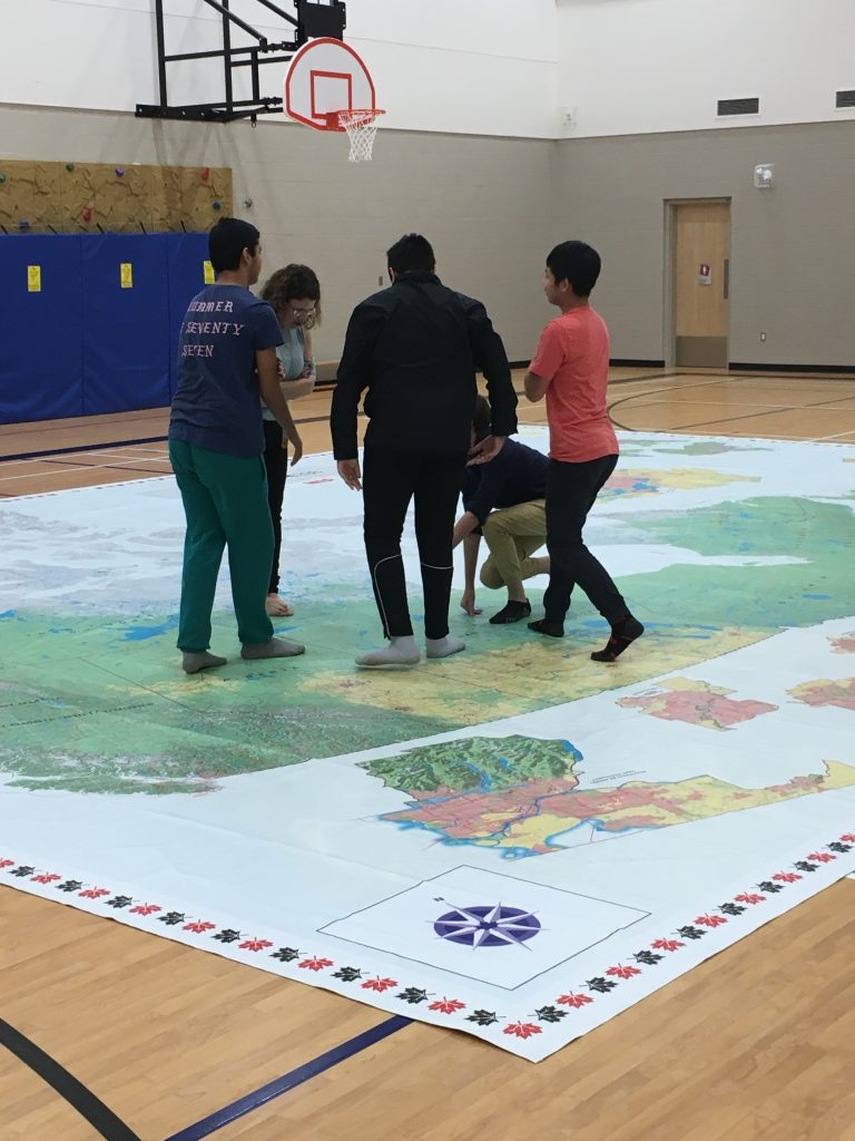 CHIEF WHITECAP SCHOOL CPAC FLOOR MAP
