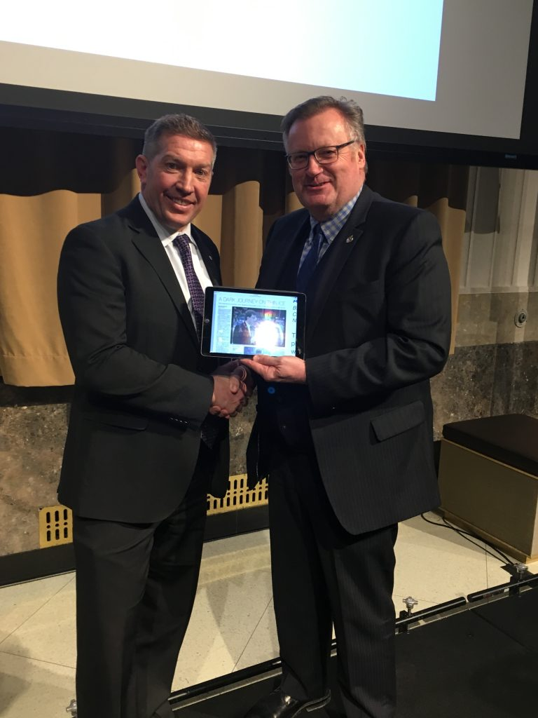 SHELDON KENNEDY -SWIFT CURRENT FILM SCREENING