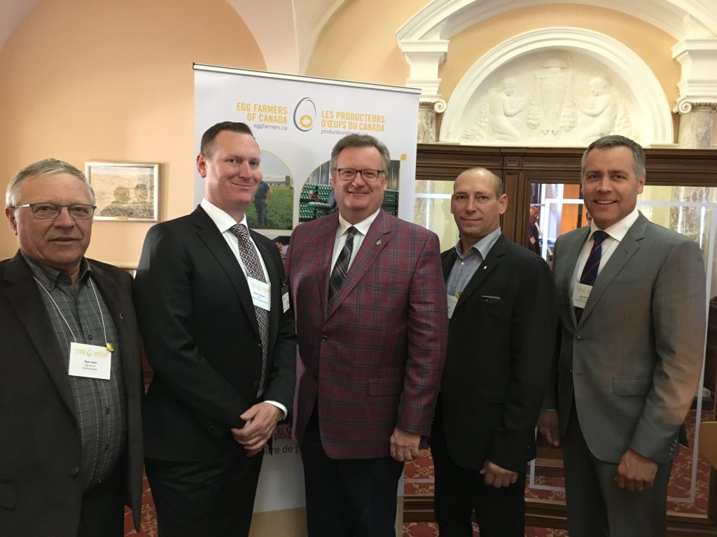EGG FARMERS OF CANADA RECEPTION