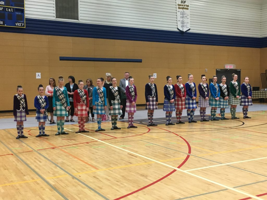 SASKATCHEWAN HIGHLAND DANCING ASSOCIATION PARADE OF CHAMPIONS