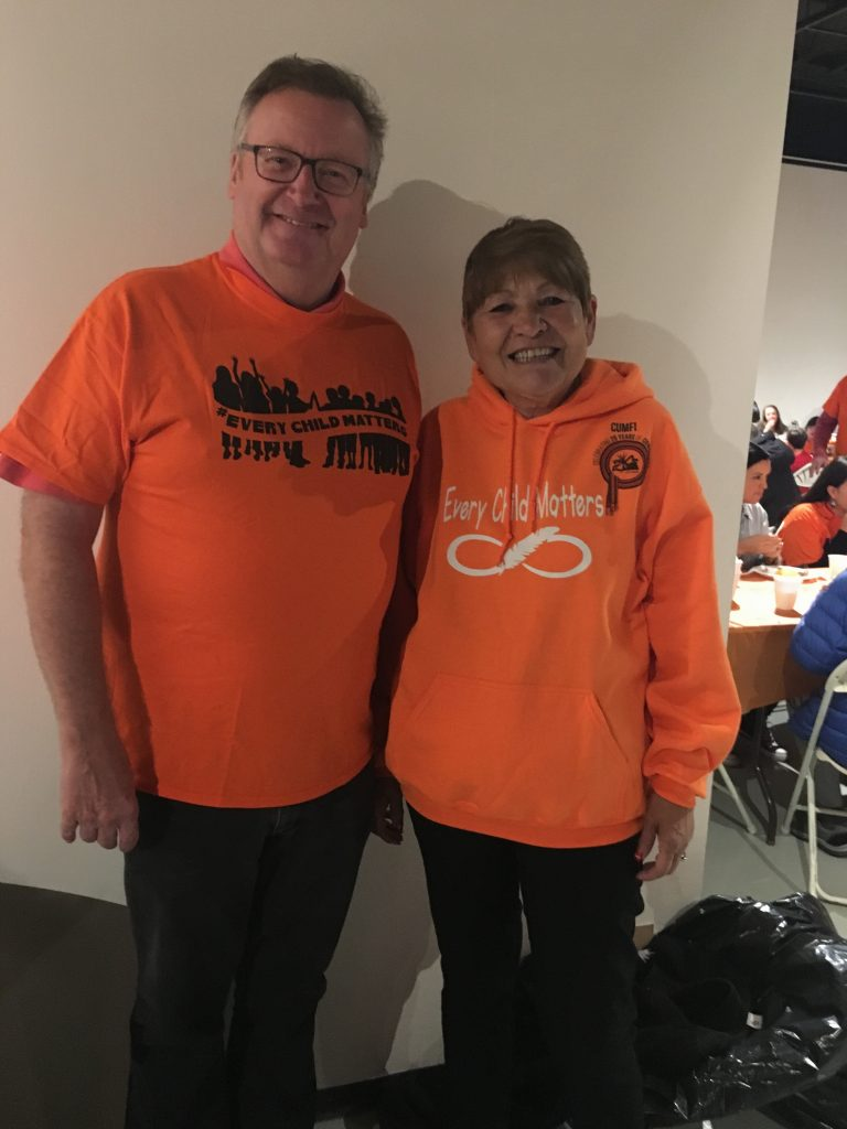 ORANGE SHIRT DAY WITH SHIRLEY ISBISTER, CUMFI
