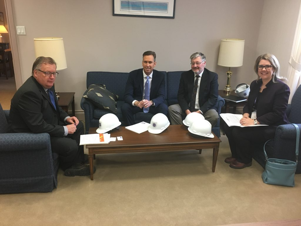 CANADIAN CONSTRUCTION ASSOCIATION DAY ON THE HILL-DAVID BOWCOTT, GRANT FELTMATE, LESLIE DOKA