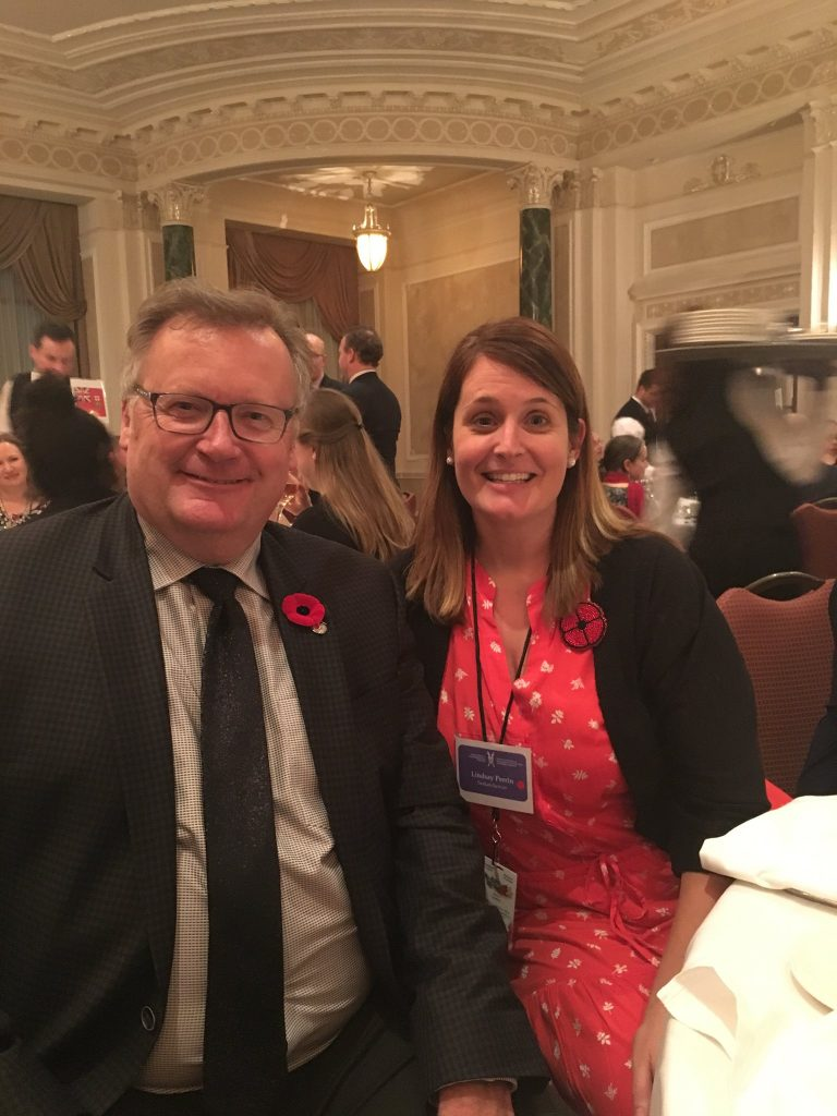 LINDSAY PERRIN HOWARD COAD SCHOOL-TEACHERS INSTITUTE ON CANADIAN PARLIAMENTARY DEMOCRACY