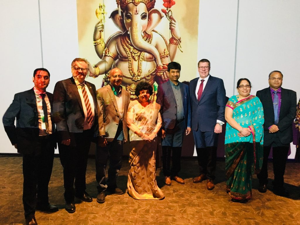 HINDU SOCIETY OF SASKATCHEWAN VEGETARIAN BANQUET