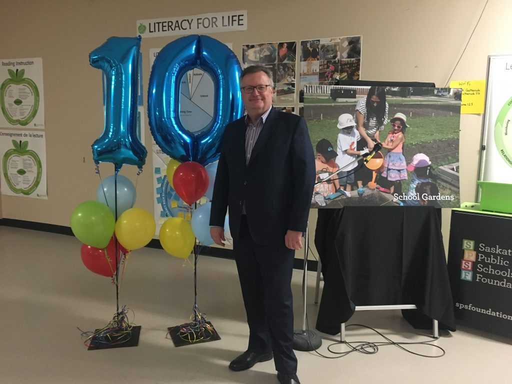 SASKATOON PUBLIC SCHOOL FOUNDATION 10TH ANNIVERSARY