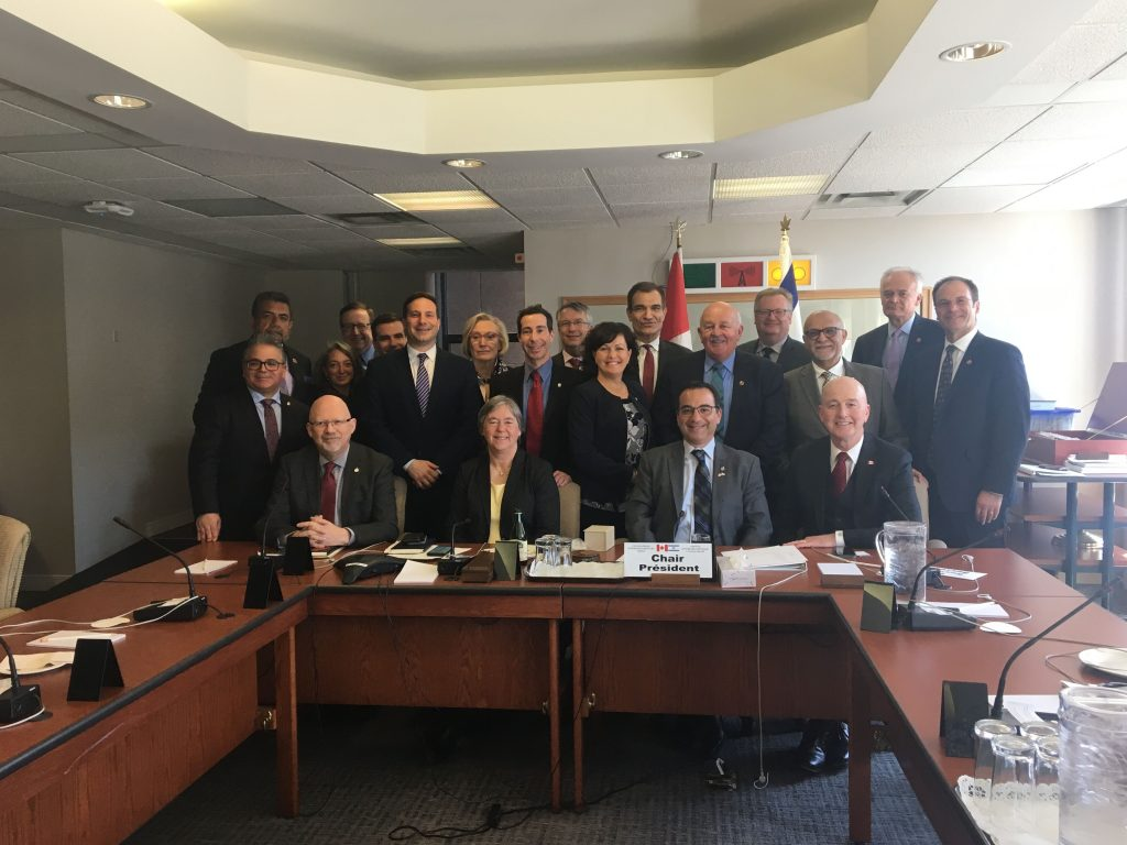 CANADA-ISRAEL INTERPARLIAMENTARY GROUP AGM